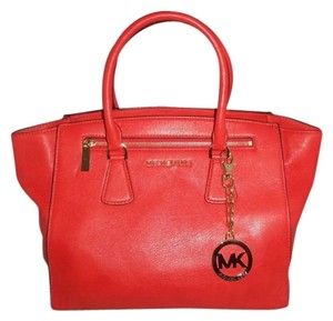 Michael Kors Next Day Shipping Satchel in Orange ( Mandarin )