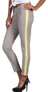 Hudson Jeans Denim Pants Stripe Tuxedo Skinny Jeans-Light Wash