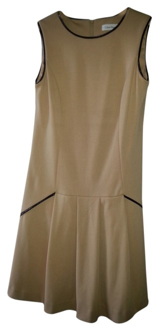 camel Maxi Dress by Calvin Klein