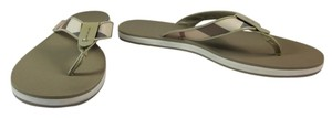 Burberry House Check Leather Sandals