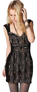 Free People Bodycon Embroidered Dress