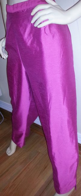 Venezia by Lane Bryant Comfortable Trouser Pants Pink