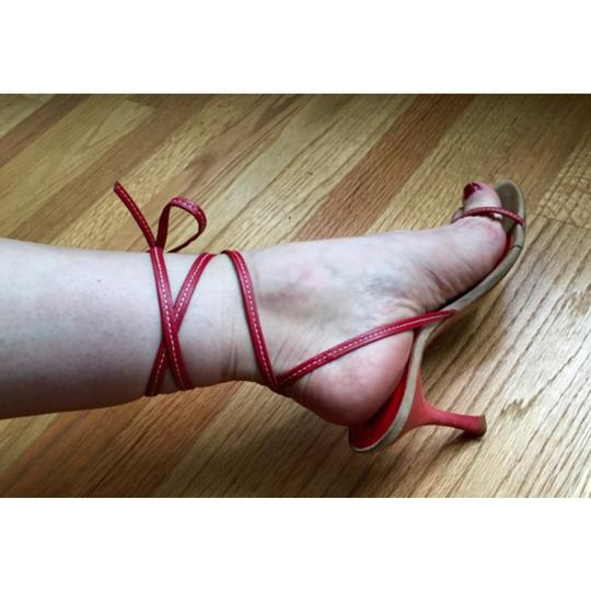 Kenneth Cole Sexy Strappy Red, cherry Pumps