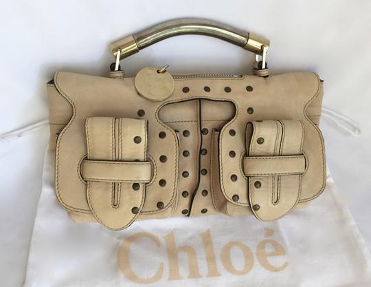 Chloé Clutch Convertible Leather Evening Cross Body Bag Image 1