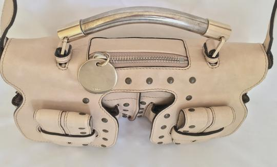 Chloé Clutch Convertible Leather Evening Cross Body Bag Image 2