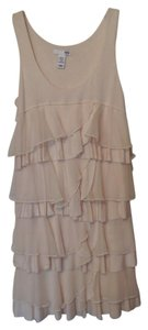 H&M short dress Palest Peachy-Pink Cocktail Knit Tiered Party on Tradesy