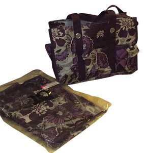 Plum Awesome Blossom Beach Bag