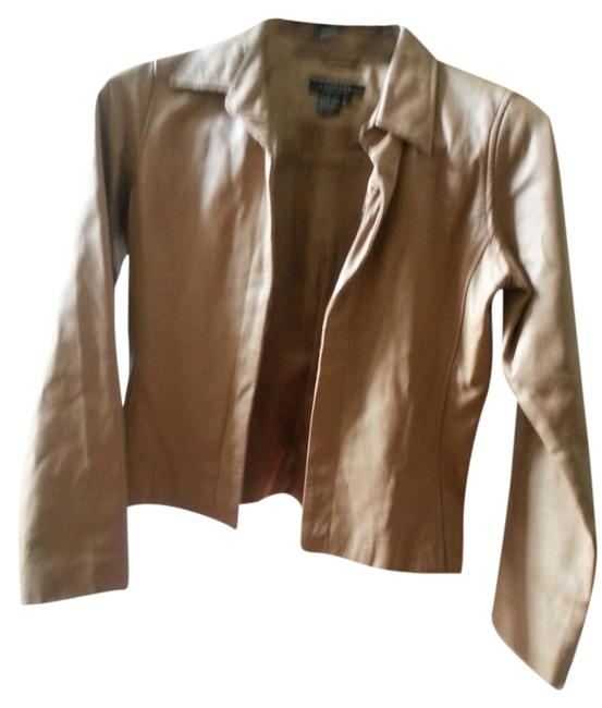Rampage camel Leather Jacket