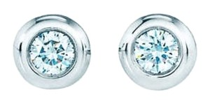 Tiffany & Co. Diamonds by the yard silver Diamond studs earrings