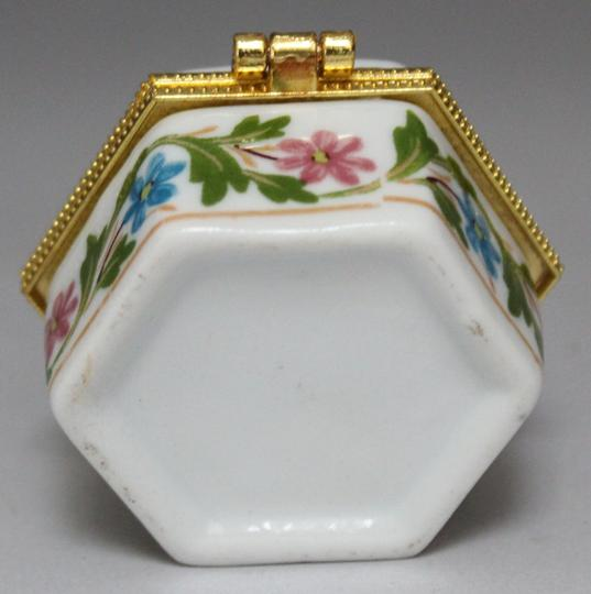 Hand Painted Porcelain Jewelry Box Free Shipping