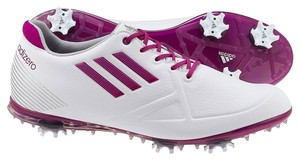 adidas White/ Purple Athletic