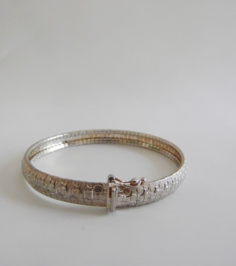 Other .925 Sterling Silver Diamond Cut Bracelet