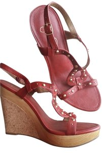 Jessica Simpson Red Wedges