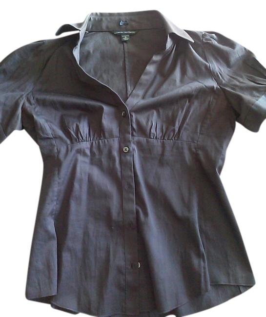 Preload https://item2.tradesy.com/images/banana-republic-dark-gray-casual-button-down-top-size-0-xs-514116-0-0.jpg?width=400&height=650