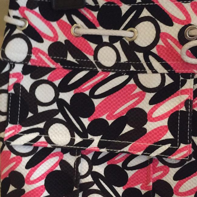 Etcetera Mini Skirt Multi color black, pink and white