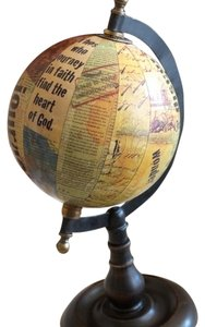 Blessings Unlimited Journeys Globe Large