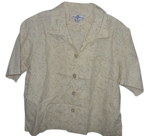 Tommy Bahama Button Down Shirt Tan