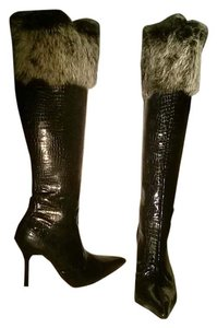 Michael Antonio Face Black with Fur on top Boots