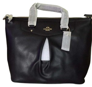 Coach Tote Nwt Satchel in Black