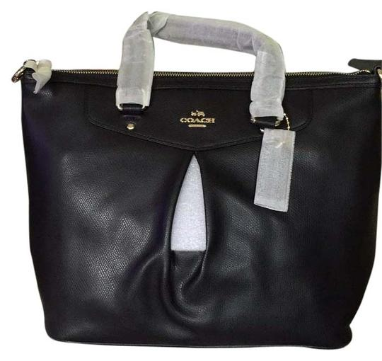 Preload https://item2.tradesy.com/images/coach-crossgrain-pleated-tote-black-leather-satchel-5142031-0-0.jpg?width=440&height=440