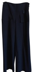 People Like Frank Wide Leg Pants black