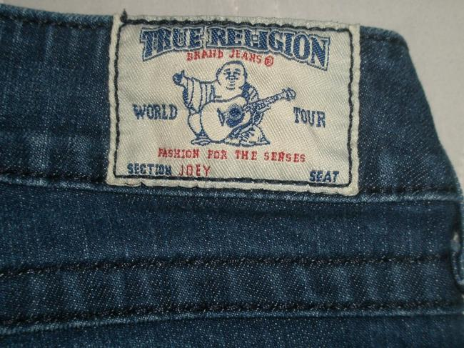 True Religion Back Flap Pockets * Low Rise * Zip Fly * Whiskering Detail * Cotton/spandex * Machine Washable * Style: Ws22075b23 Flare Leg Jeans-Dark Rinse