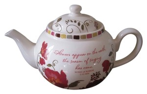 Blessings unlimited Floral tea pot