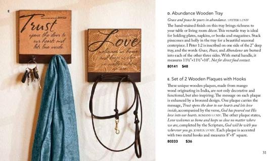 Blessings unlimited Wooden plaques with hooks