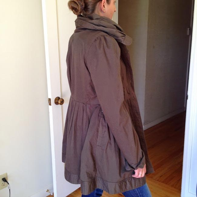 Knitted Dove Coat