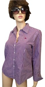 Brooks Brothers Button Down Shirt Purple
