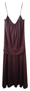 Brown Maxi Dress by Massimo Maxi Target Drop Waist Low Torso