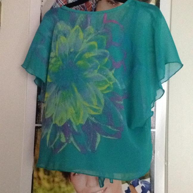 Justice Top Turquoise