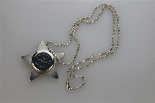 Other Silver Star Rhinestone Quartz Watch Necklace Free Shipping