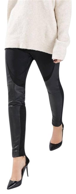 Preload https://item4.tradesy.com/images/zara-black-faux-leather-patches-leggings-trousers-stretch-skinny-pants-size-0-xs-25-5144308-0-2.jpg?width=400&height=650