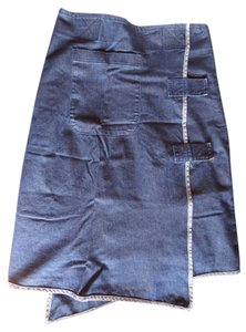 Nisa Denim Indigo Skirt Indigo denim
