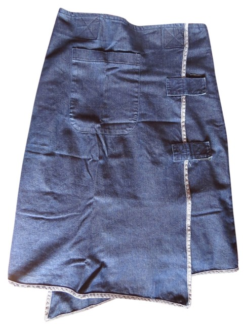 Nisa Skirt Indigo denim