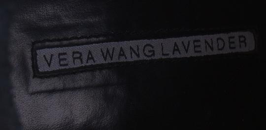 Vera Wang Lavender Label Leather Beaded Black Boots