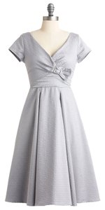 Modcloth Vintage-inspired 50s Wedding Formal Tea Length Dancing New Year's Eve Dress