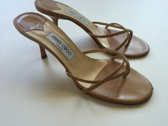 Jimmy Choo Nimbus Camel Sandals