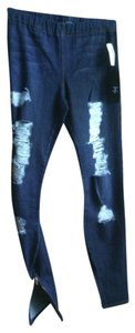 JOE'S Jeans Zipper Ankle Skinny Jeans-Distressed