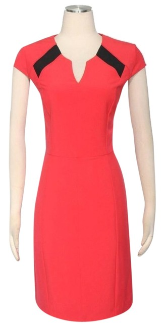 Preload https://item5.tradesy.com/images/jessica-simpson-geranium-red-and-black-fitted-short-workoffice-dress-size-6-s-5146609-0-0.jpg?width=400&height=650
