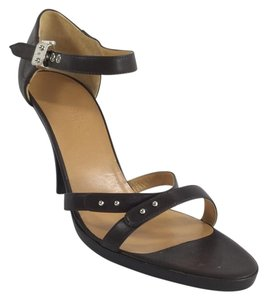 Herms Hermes Brown Sandals
