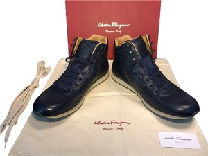 Salvatore Ferragamo Blue Athletic