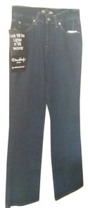 Miraclesuit Straight Leg Jeans-Medium Wash