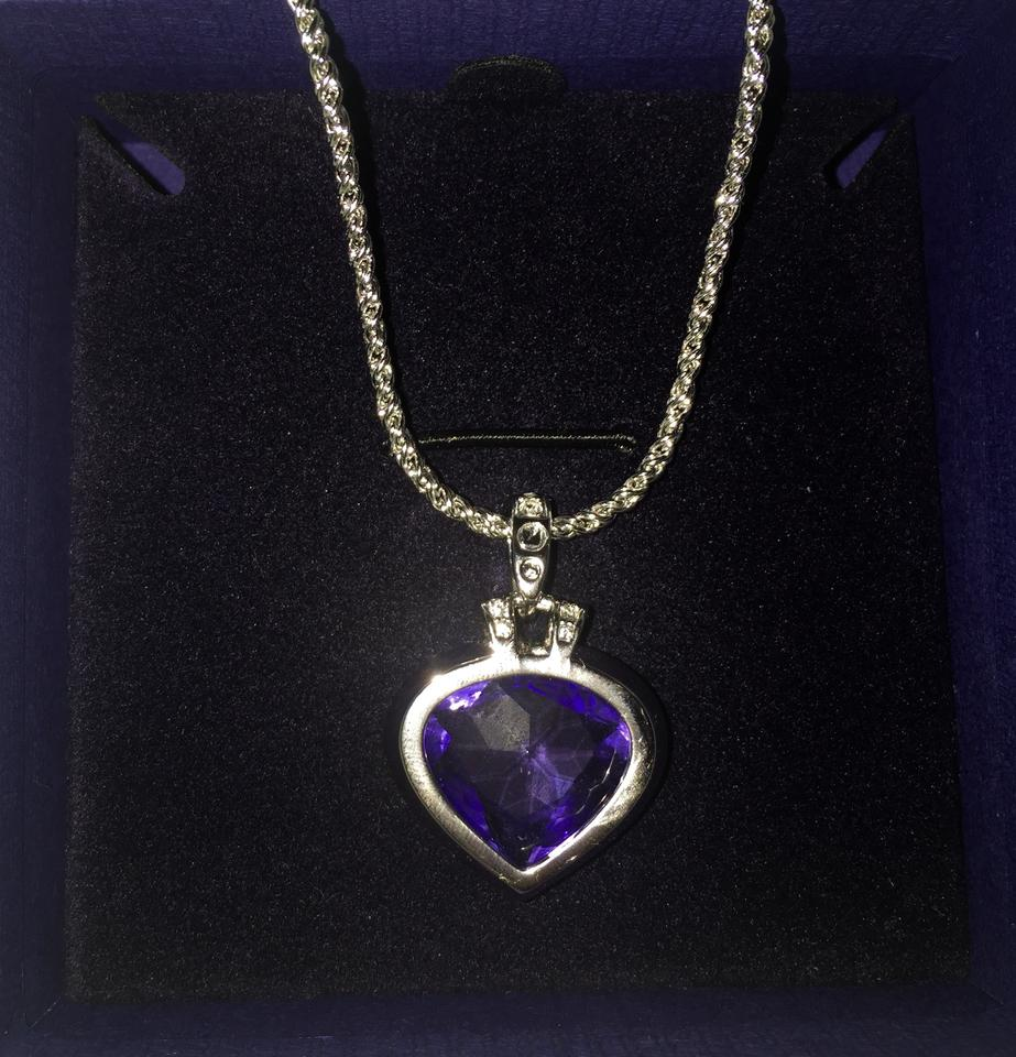 necklace tanzanite silver products sterling pendant