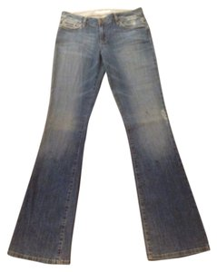 JOE'S Jeans Distressed Joes Curvey Boot Cut Jeans-Distressed
