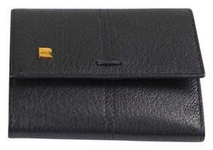Fratelli Rossetti Trifold Black Leather Wallet
