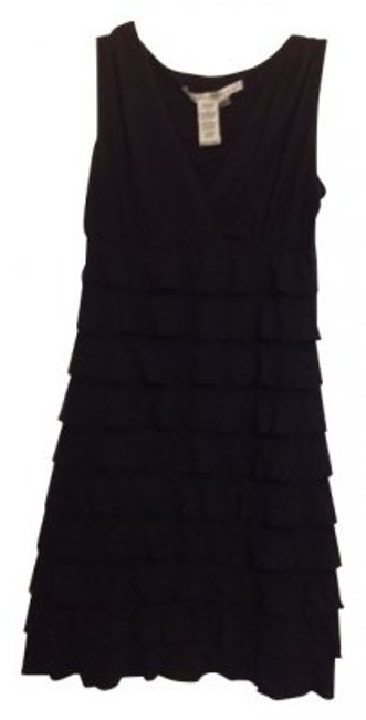 Preload https://item4.tradesy.com/images/max-studio-black-tiered-ruffled-above-knee-short-casual-dress-size-6-s-5148-0-0.jpg?width=400&height=650