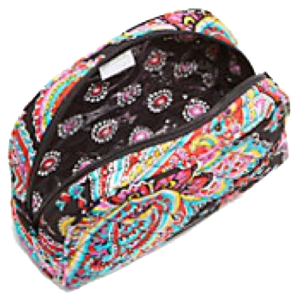 Vera Bradley Medium Cosmetic Bag Parisian Paisley