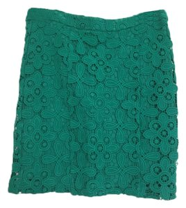 INTERMIX Mini Skirt Green